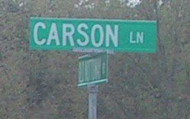 Carson Lane