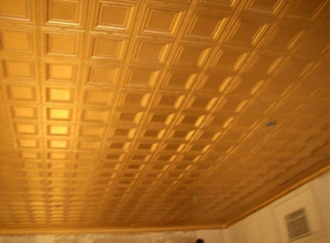 Gold ceiling in 2006