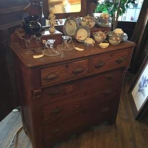 Late 1800's cottage dresser