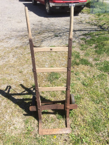 Antique hand cart circa 1900