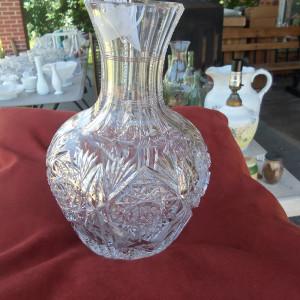 American Brilliant period cut glass decanter