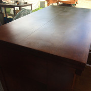 CA 1820 Cherry, Flame Mahogany Butler's Cabinet - Top