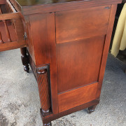 CA 1820 Cherry, Flame Mahogany Butler's Cabinet - Right Side