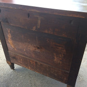 CA 1820 Cherry, Flame Mahogany Butler's Cabinet - Back